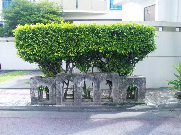 崇元寺石門オブジェ
