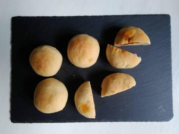 手づくりタコミートパン