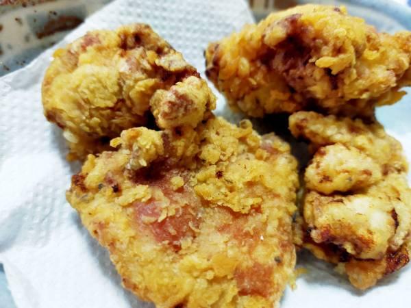 ほんのりヨーグルト風味の鶏のハーブから揚げ