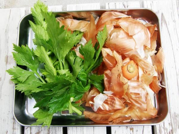 野菜くずでベジタブルスープストックを作ろう!
