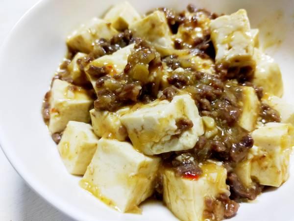 豆板醬があればすぐできる!島豆腐で麻婆豆腐