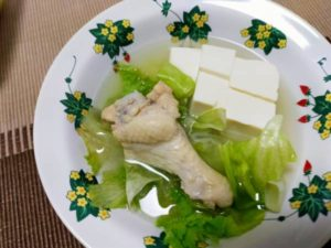 手羽元スープ