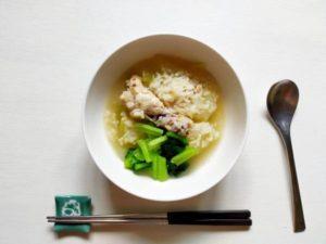 シブイ(冬瓜)のサムゲタン風スープ